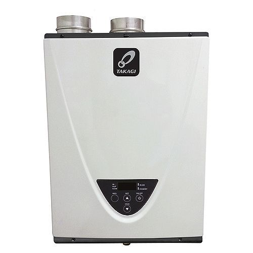 Takagi T-H3-DV-P  Indoor Tankless High Efficiency Condensing Water Heater -Propane