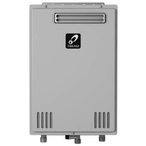 Takagi TK-110U-E Tankless Water Heater 140,000 BTU Natural Gas / Propane Outdoor Ultra Low NOx