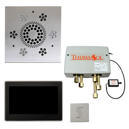 """Thermasol Total Wellness Package with 10"""" ThermaTouch Trim Upgraded Square"""