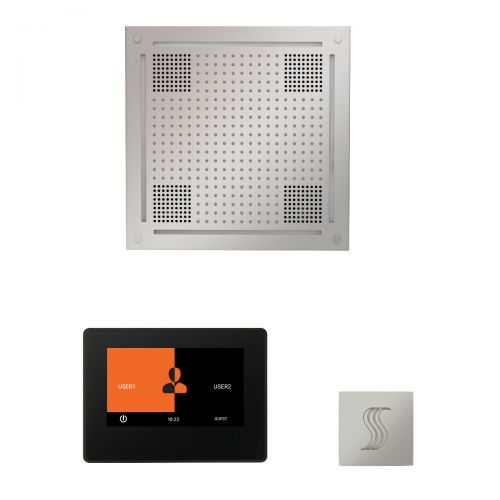 """Thermasol Wellness Hydrovive Steam Package w/7"""" ThermaTouch Square"""