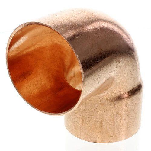 3/8 FTG x Copper 90 Street Elbow