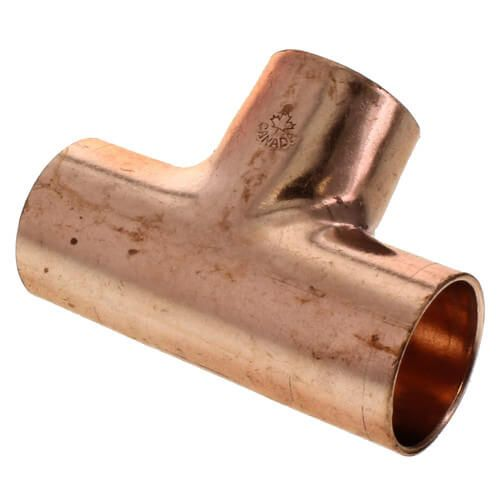 1/2 CxCxC Copper Tee Fitting