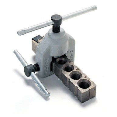 Ridgid 23332 345 45 Degree SAE Manual Flare Tool Kit