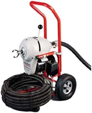 Ridgid 23702 K-1500A Sectional Drain Cleaner w/ C-14 Cable