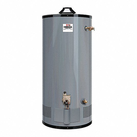 Rheem G100-80 Med-Duty 100 Gallon Natural Gas Commercial Water Heater (3 Year Limited Warranty)