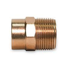 1 Copper X Male Adapter