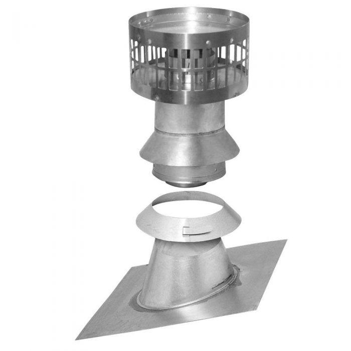 Rheem RTG20211 Vertical Vent Termination Kit by Metal Fab