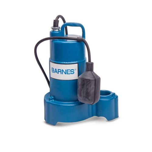 Barnes SP33A 1/3 HP Sump Pump with Tethered Meshanical Float  (112549)