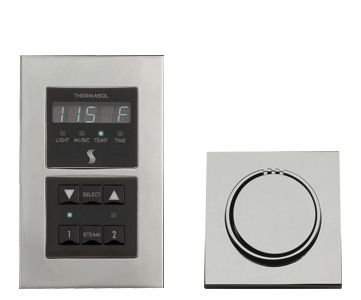 Thermasol Signature Series Control Package - Modern Recessed