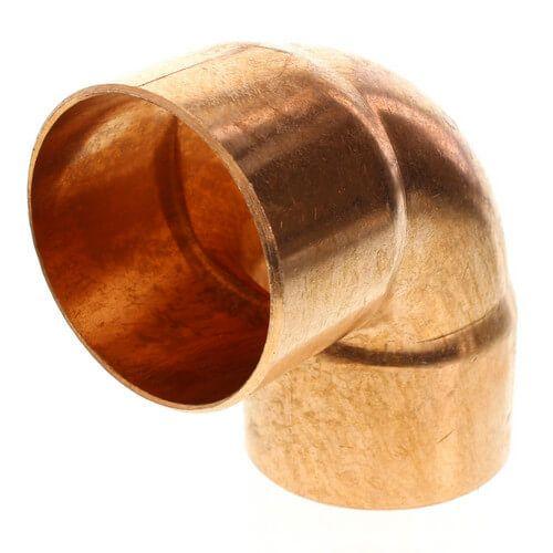 2-1/2 CxC Wrot Copper Sweat 90 Elbow Cello WP7-40