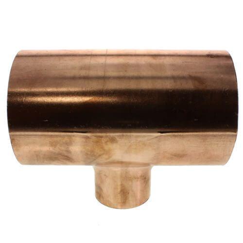 1/2X1/2X3/8 CxCxC Wrot Copper Sweat Tee Cello WPT-08-08-06