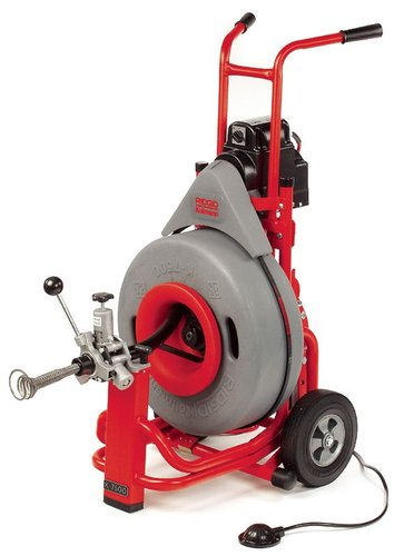Ridgid 60052 K-7500 w/Autofeed and 3/4 x 100 Inner Core Cable