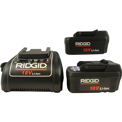 Ridgid 32648 Batteries and Charger Kit for LCDPak Monitor