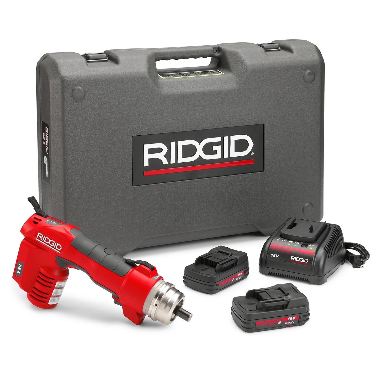 Ridgid 52098 RE 6 Electrical Tool Cut & Crimp Kit