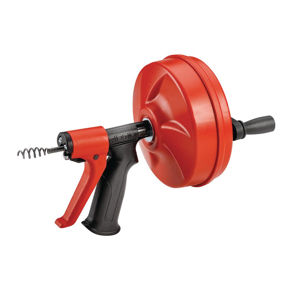 DRAIN CLEANER, POWER SPIN