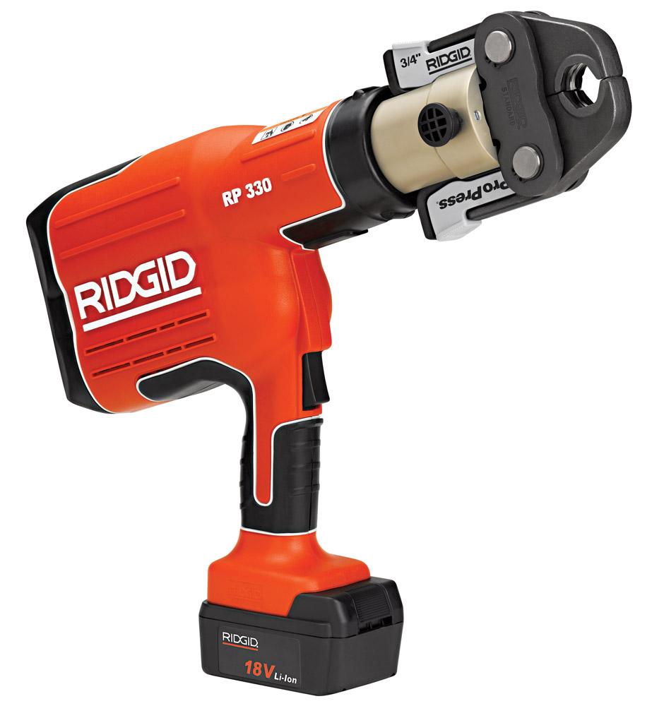 Ridgid 27928 RP 330-B Battery Pressing Tool Only